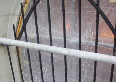 Restauration grille de chapelle