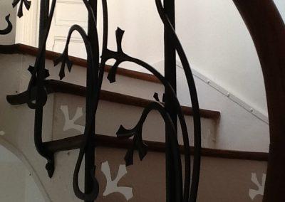 Rampe art nouveau