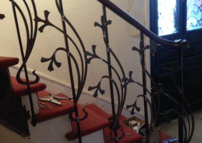 Restauration rampe